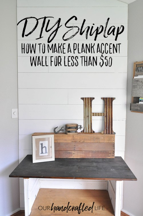 Shiplap Accent Wall In Lummy Rich Colors Bathroom