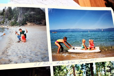Fishing with Big Bro and Rafting with Big Sis, Lake Tahoe