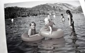 Me and my Big Sis at Pinecrest Lake