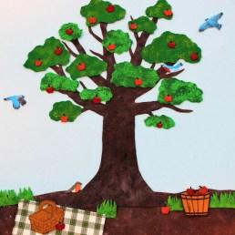 felt seasons tree20