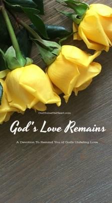 God's Love Remains Devotion