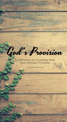 GODS PROVISON DEVOTION