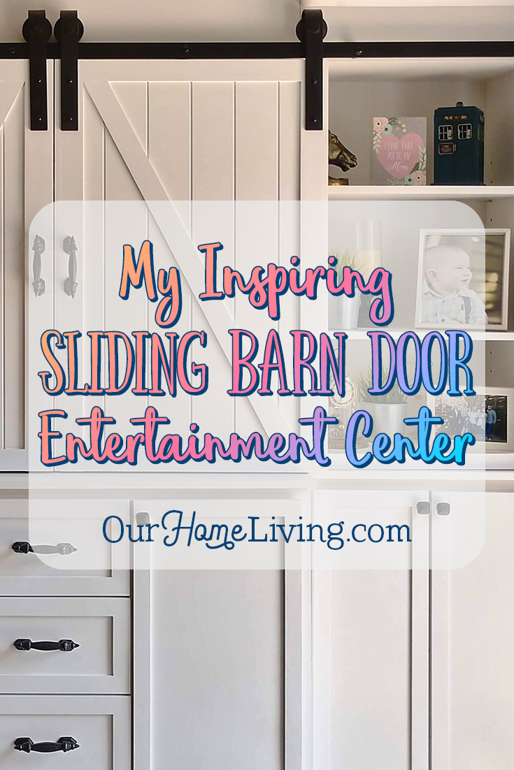 are you looking for entertainment center ideas my sliding barn door entertainment center has been - Sliding Barn Door Entertainment Center
