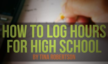 How to Log Hours for High School