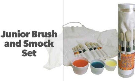 Junior Brush and Smock Set