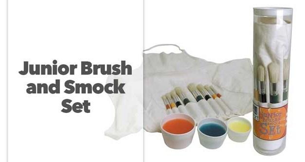 Junior Brush and Smock Set
