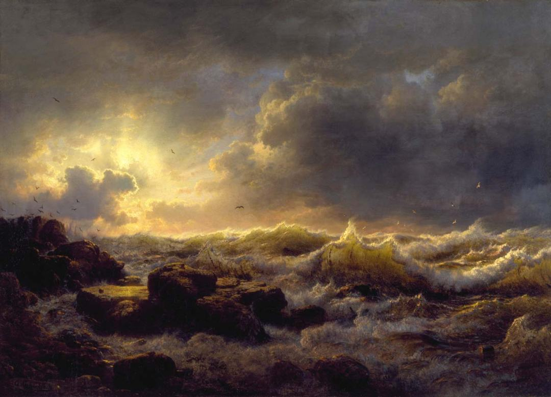 Andreas Athenbach - Clearing Up Coast of Sicily