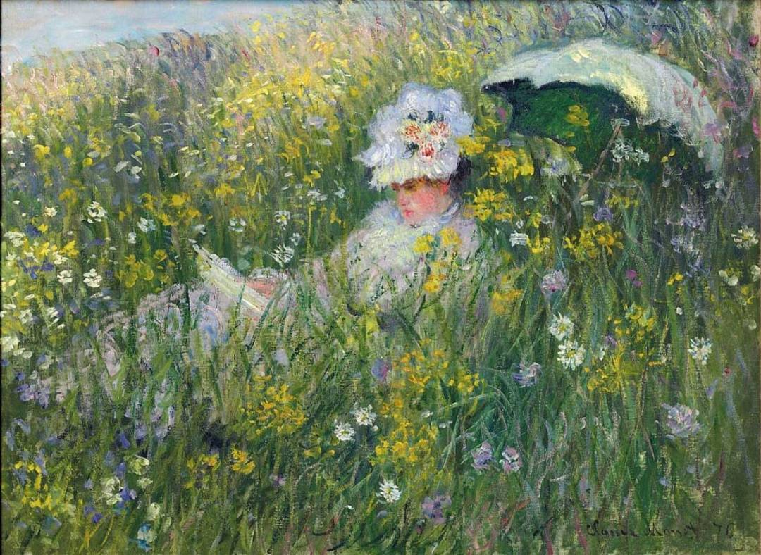 Monet - In the Meadow