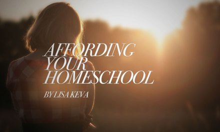 Affording Your Homeschool