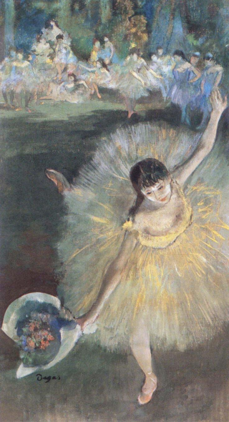 Degas - Fin d' Arabesque