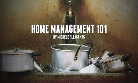 Home Management 101