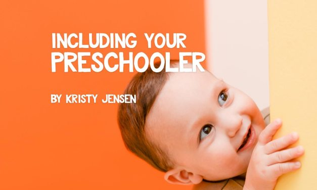 Including Your Preschooler