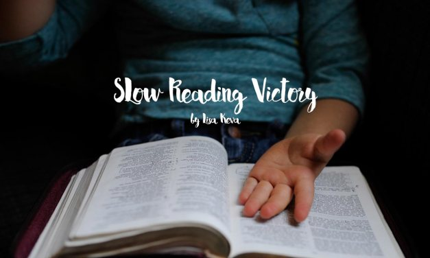 Slow reading victory!