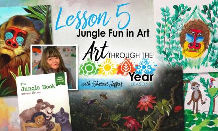 Jungle Fun in Art (Art Through the Year Season 2 Episode 5)