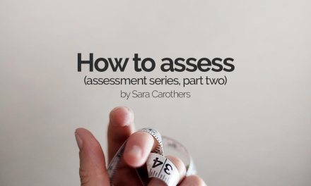 How to assess (assessment series, part two)