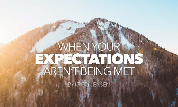 When your expectations are not being met