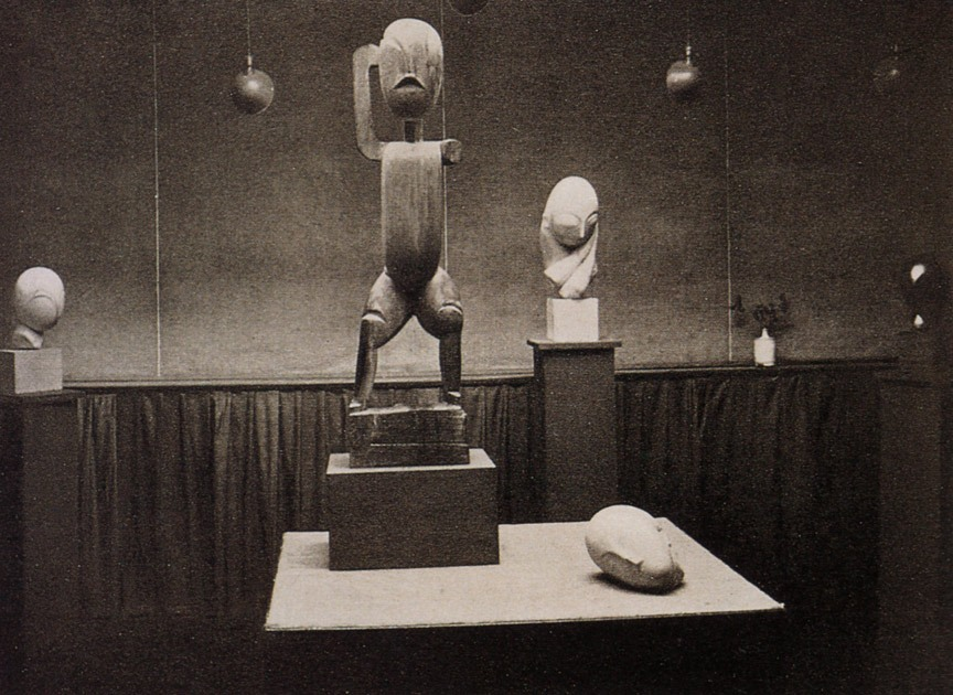 "Brancusi - Exhibition at ""291"""
