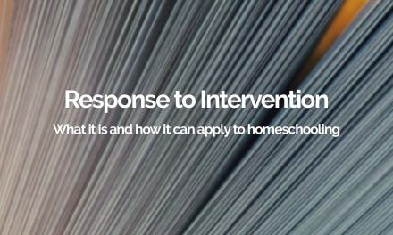 Response to Intervention – a Homeschooling Perspective