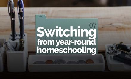 Switching from all-year schooling