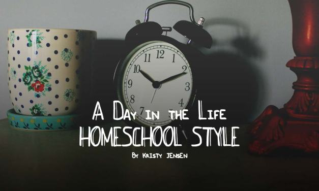 A day in the life: homeschool style