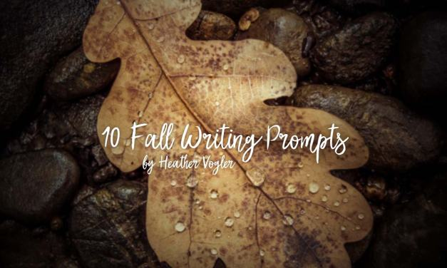 10 Fall Writing Prompts