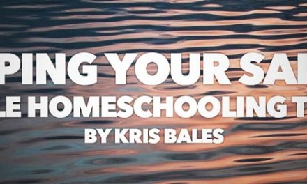 Keeping Your Sanity While Homeschooling Teens