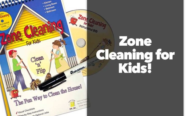 Zone Cleaning for Kids!