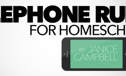 Telephone Rules for Homeschools