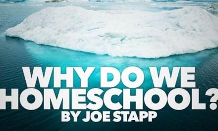 Why Do We Homeschool?