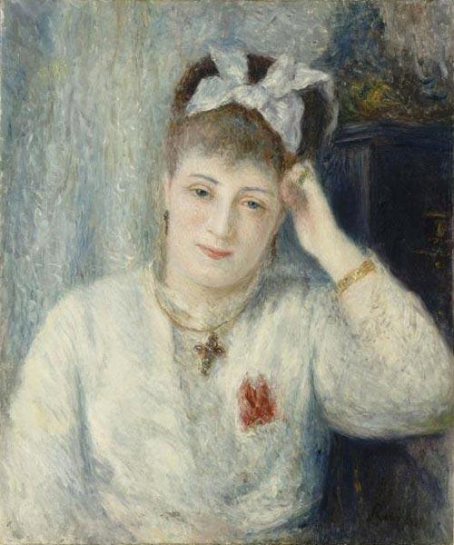 Renoir's Femme à la Croix