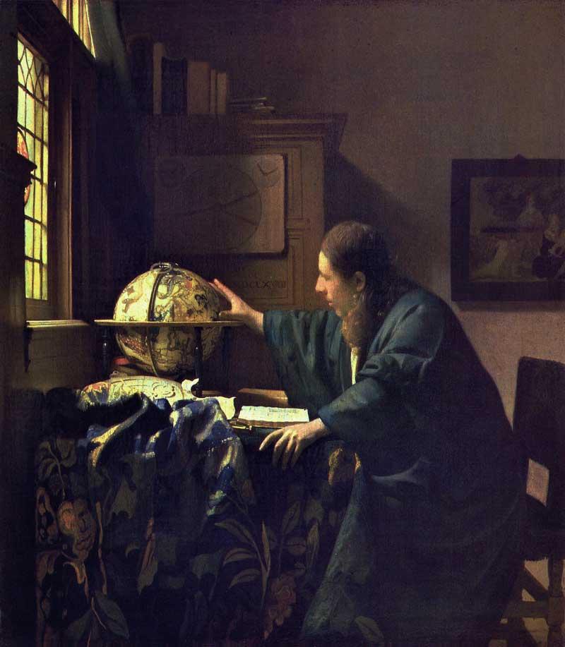 Vermeer's Astronomer