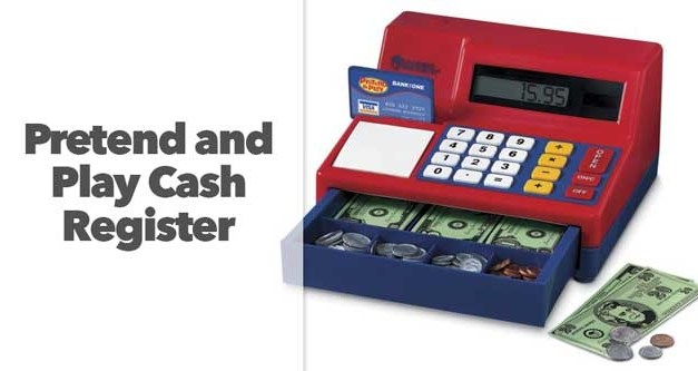 Pretend and Play Cash Register