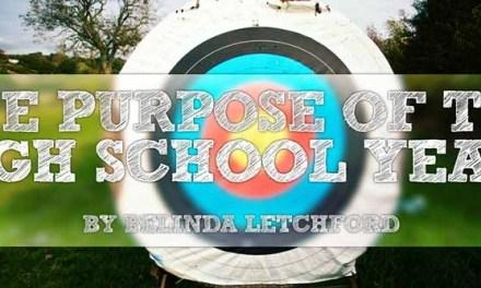 The Purpose of Highschool Years