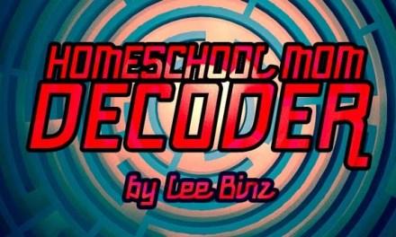 Homeschool Mom Decoder