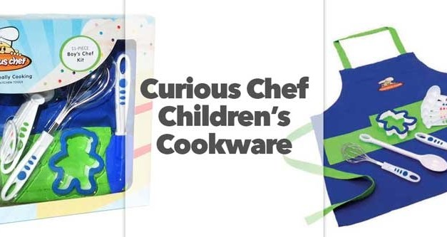 Curious Chef Children's Cookware