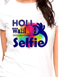 Holi T-Shirts for Women