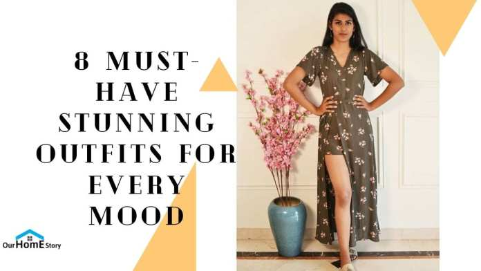 8 Must-Have Stunning Outfits for Every Mood