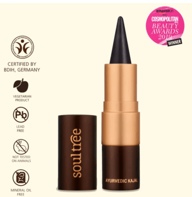 organic makeup brands soultree kajal