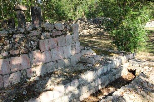Orderly Mayan plazas had rain gutters