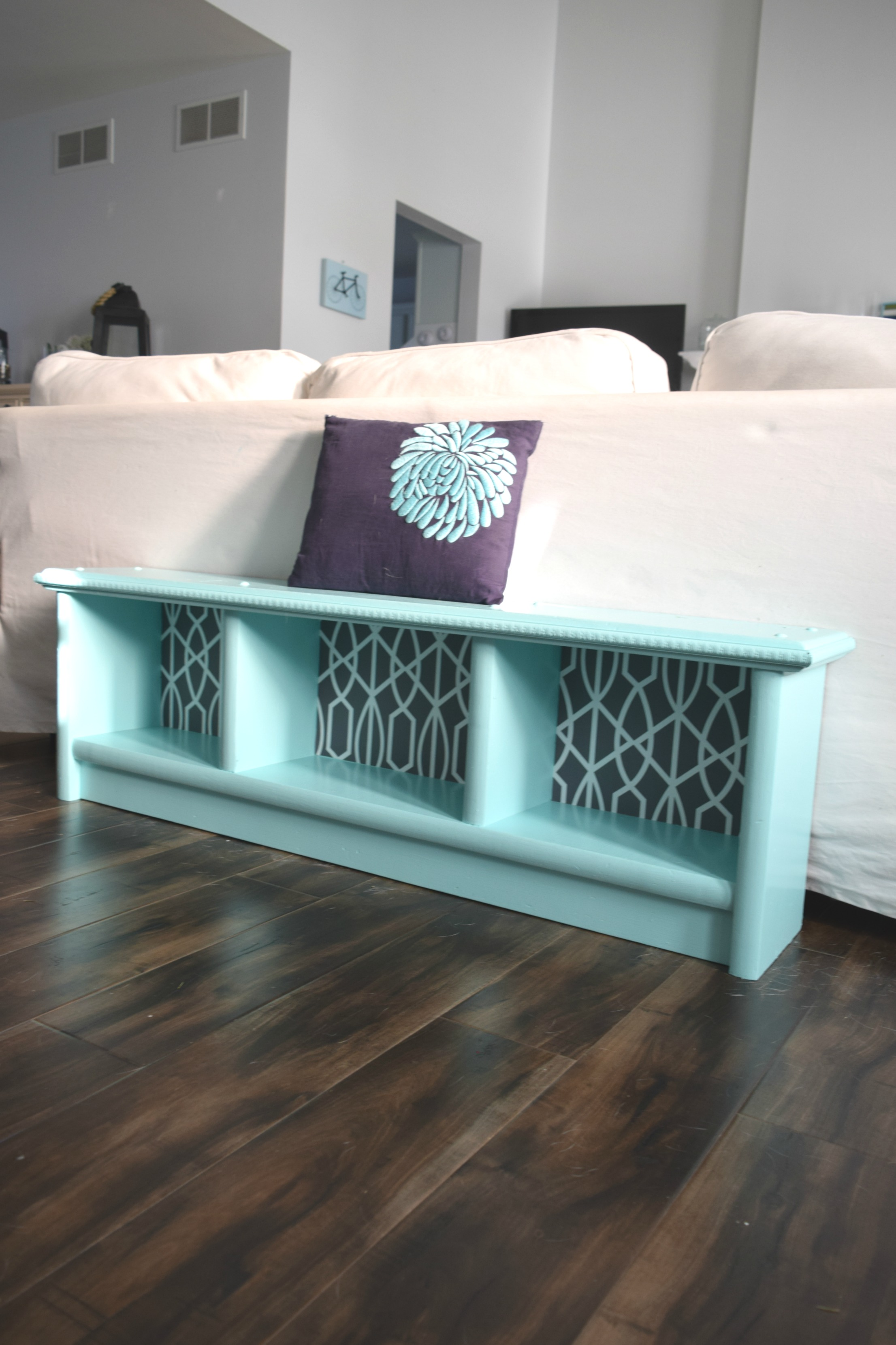 How To Upcycle A Bench Adding The Details Our House Now A Home