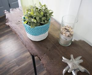 Easy To Make Diy Live Edge Table Our House Now A Home