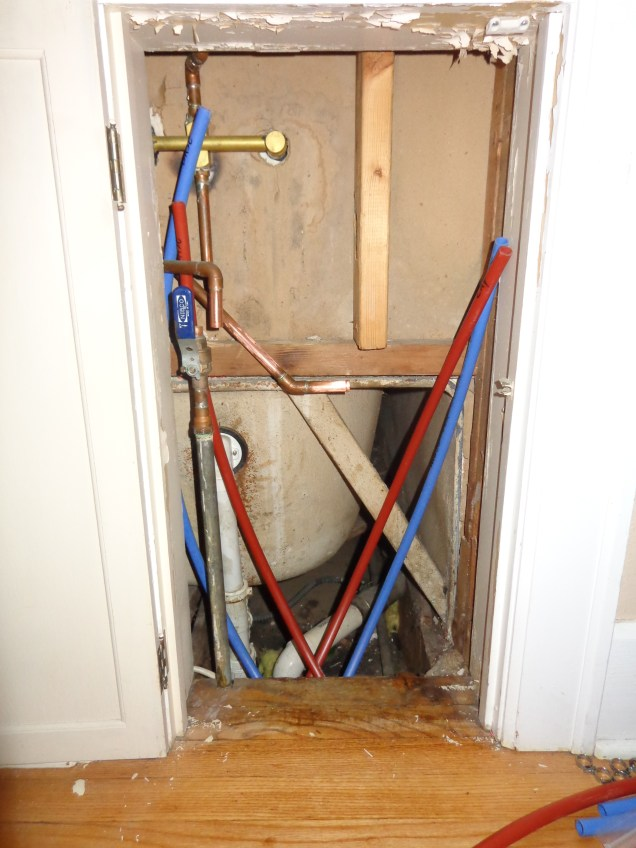2nd floor shower access panel