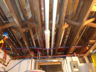 Zone 1 heat transfer plates