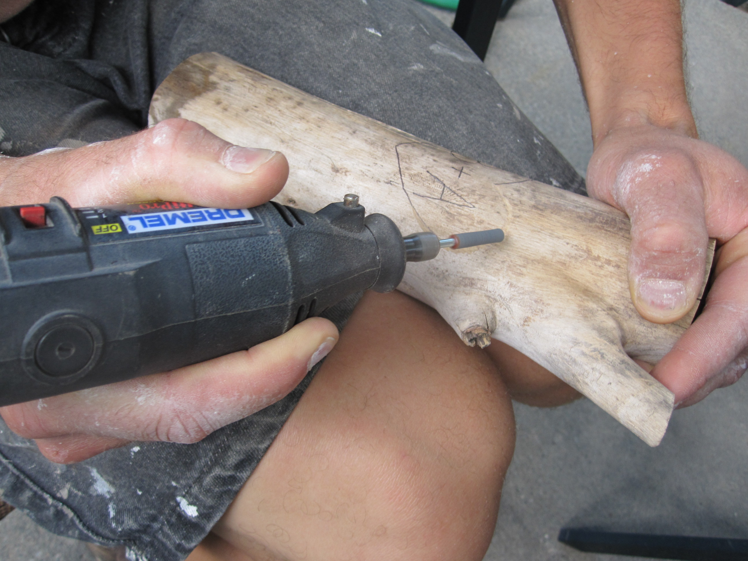 PDF Plans Carving Wood Logs With Dremel Tool Download