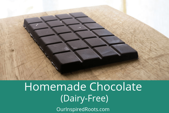 How to Make EASY Real Food Homemade Chocolate