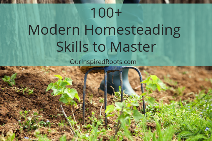 100+ Modern Homesteading Skills to Master (Or at Least Try!)