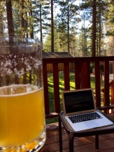 Beer and Basketball in Big Bear!