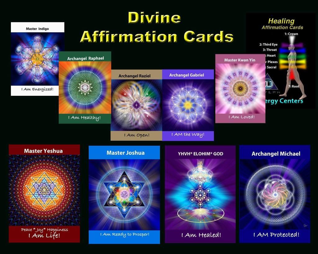 Divine Affirmation Cards
