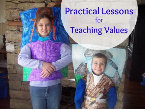 Practical lessons for character training