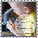 Kindergarten Microscope Notebooking